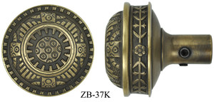 Victorian Windsor Pattern Large Door Knob (ZB-37K)