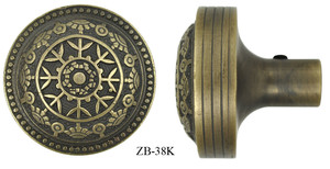 Victorian Windsor Pattern Door Knob (ZB-38K)