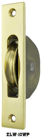 Plain Brass Window Pulley (ZLW-10WP)