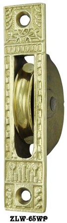 Eastlake Design Window Pulley Circa 1885 (ZLW-65WP)