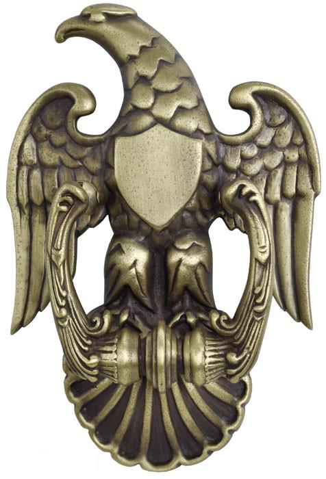 Vintage hardware lighting lost wax cast eagle doorknocker zlw 6 - Door knockers with peepholes ...